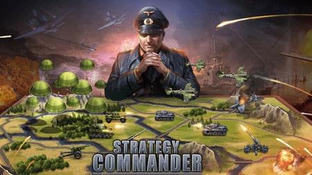 WW2: Strategy Commander Mod Apk dinheiro infinito