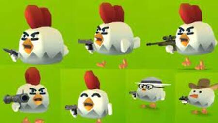 Chickens Gun apk mod dinheiro infinito
