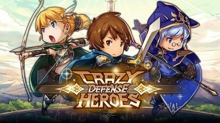 Crazy Defense Heroes Apk Mod Dinheiro Inifinito