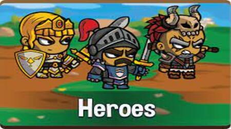 Five Heroes apk mod dinheiro infinito
