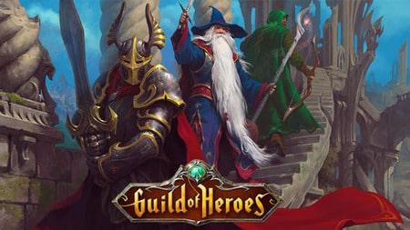 Guild of Heroes Apk Mod Dinheiro Infinito