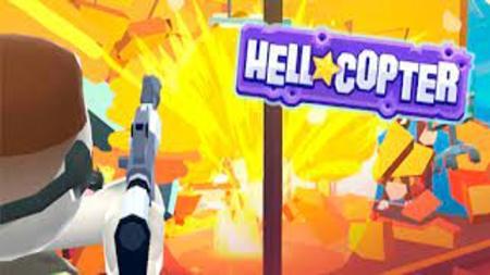 HellCopter mod apk dinheiro infinito