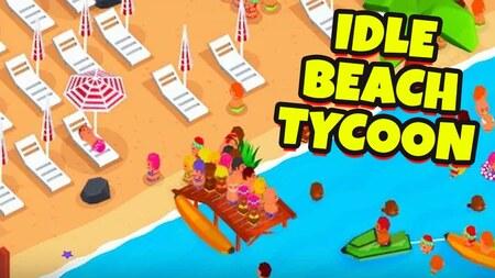 Idle Beach Tycoon Mod Apk Dinheiro Infinito