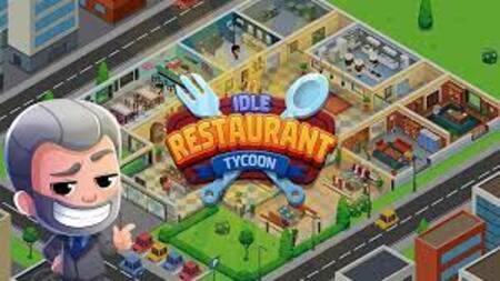 Idle Restaurant mod apk dinheiro infinito