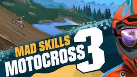 Mad Skills Motocross 3 mod apk dinheiro infinito