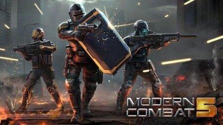 Modern Combat 5 Apk Mod Mod Menu dinheiro infinito