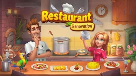 Renascimento do Restaurante apk mod dinheiro infinito