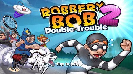 Robbery Bob 2 Double Trouble apk mod dinheiro infinito