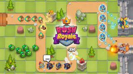 Rush Royale - Tower Defense TD mod apk dinheiro infinito