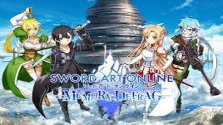 Sword Art Online: Memory Defrag apk mod dinheiro infinito