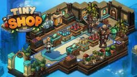 Tiny Shop Idle Fantasy Shop apk mod dinheiro infinito