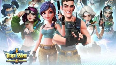 Top War Battle Game Mod Apk Dinheiro Infinito