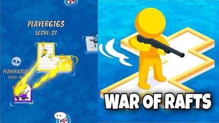 War Of Rafts apk mod dinheiro infinito