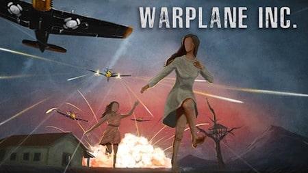 Warplane Inc apk mod dinheiro infinito