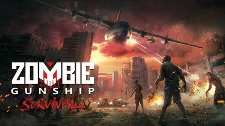 Zombie Gunship Survival apk mod dinheiro infinito