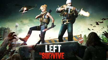 Left To Survive apk mod dinheiro infinito