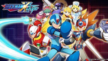 Mega Man X Dive Apk Mod Dinheiro Infinito Atualizado