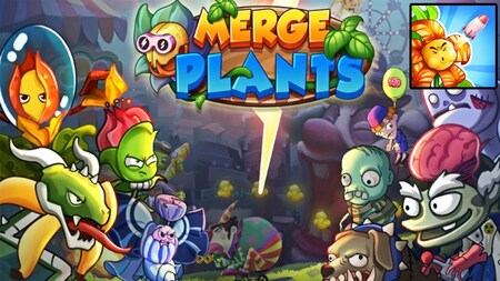 Merge Plants Zombie Defense Apk Mod Dinheiro Infinito
