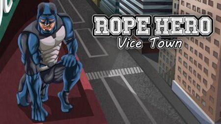 Rope Hero Vice Town Mod Apk Dinheiro Infinito
