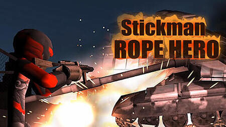 Stickman Rope Hero Apk Mod Dinheiro Infinito