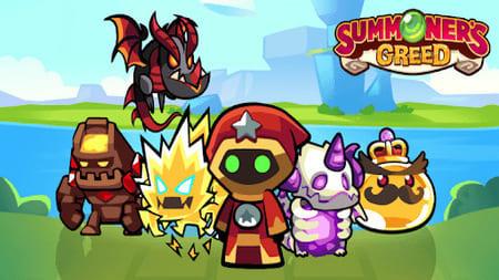 Summoner's Greed Mod Apk Atualizado