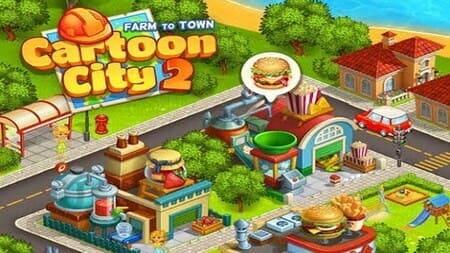 Cartoon City 2 Apk Mod Dinheiro Infinito
