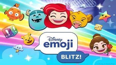 Disney Emoji Blitz Apk Mod Dinheiro Infinito
