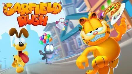 Garfield Rush Mod Apk Dinheiro Infinito
