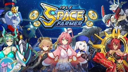 Idle Space Farmer Apk Mod Dinheiro Infinito