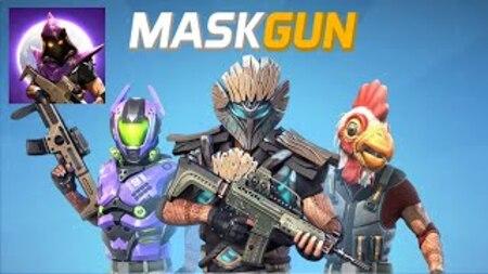 MaskGun FPS Multijogador Apk Mod Dinheiro Infinito
