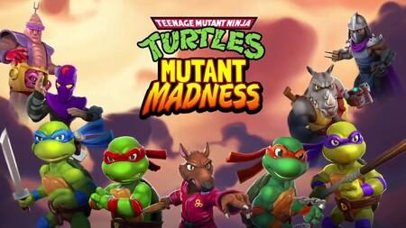 TMNT: Mutant Madness Apk Mod Dinheiro Infinito