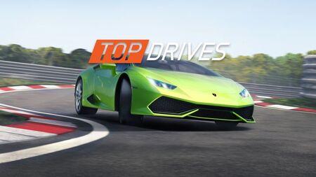Top Drives Apk Mod Dinheiro Infinito Atualizado